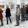 Halcyon art: The Halcyon Art Gallery was busy Friday night with large crowds attending the Miracle on 7th Street event.