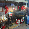 "Recycled: Lynn Allen stands near some of his wares in ""Another Man's Treasure"", a re-sale store he runs with his wife Karen."