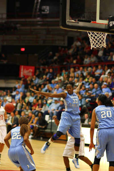 GWU Womens Basketball Vs. UNC Chapel Hill