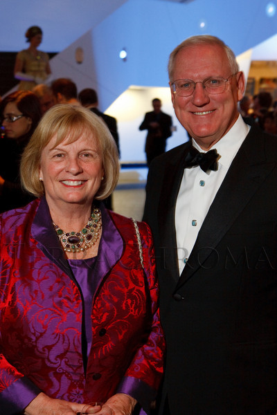 (Denver, Colorado, Dec. 2, 2010)<br /> Sharon and Lanny Martin.  Collector's Choice, honoring Fred Hamilton, at the Denver Art Museum in Denver, Colorado, on Thursday, Dec. 2, 2010.<br /> STEVE PETERSON
