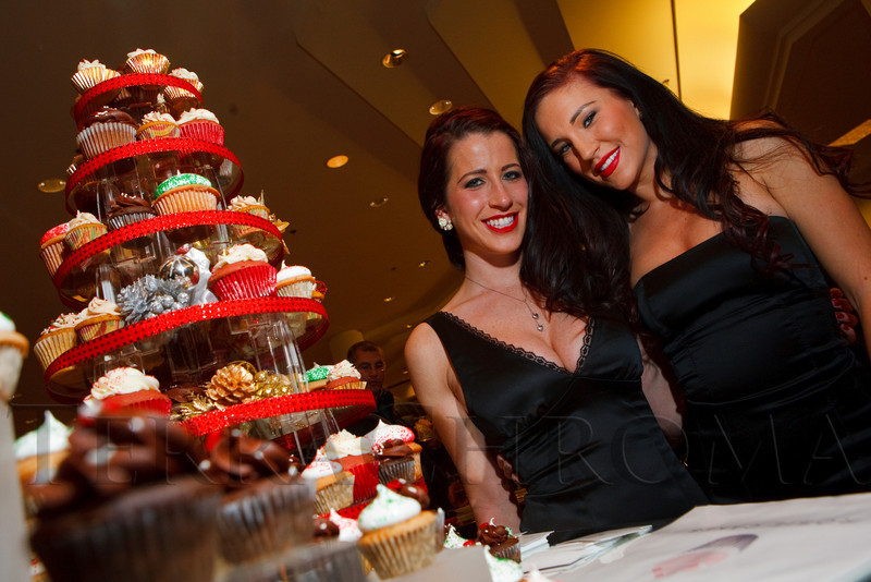 (Denver, Colorado, Dec. 9, 2010)<br /> Rosie Desjardins (founder) and Shandi Lynn Olson of Rosie Cakes.  Miracle on Fifth Avenue cocktail event at  Saks Fifth Avenue Cherry Creek in Denver, Colorado, on Thursday, Dec. 9, 2010.<br /> STEVE PETERSON