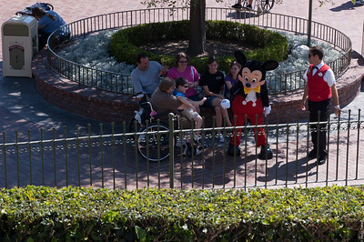Mickey Moons the Visitors