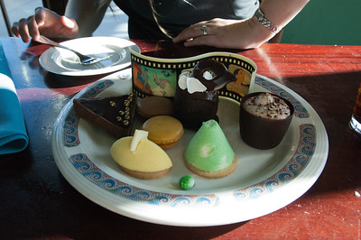 Dessert at Ariel's Grotto