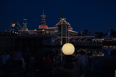 Ariel's Grotto at Night