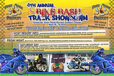 Down South Burners 4th Annual Bike Bash