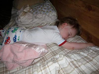 And then sleeps
