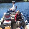ALEX & LANEY FISHING ON KLEUTSCH LAKE