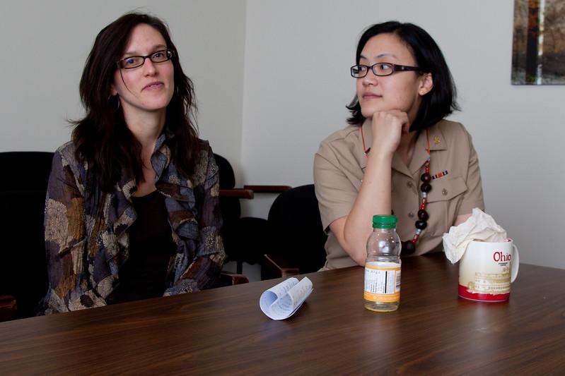 Dr. Elizabeth (Beth) Conrey and Dr. Jean Ko