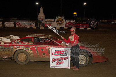 Danny Mitchell won the PRC Strawberry Dash on Tuesday night