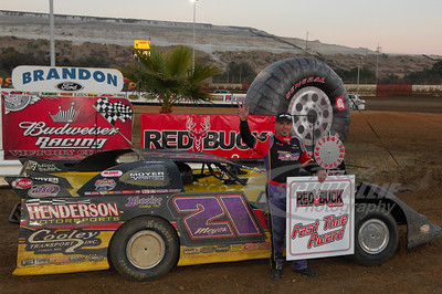 Billy Moyer was the Red Buck Cigars fast time recipient on Wednesday