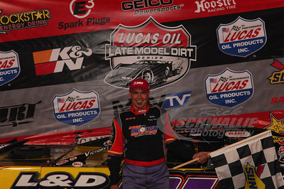 Billy Moyer in Victory Lane @ East Bay Raceway Park