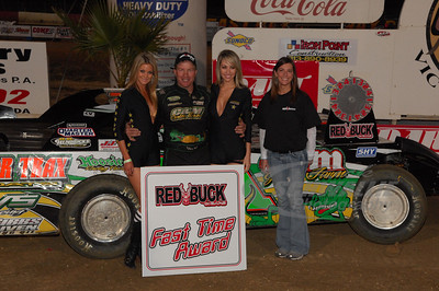 Chris Wall was the Red Buck Cigars fast time recipient on Thursday