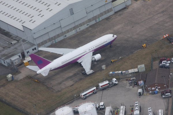 East Midlands Airport (Aerial) : 10th March