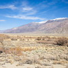 Clouds gather over the Owens Valley.