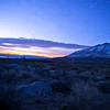 Pre-sunrise over Owens Lake.