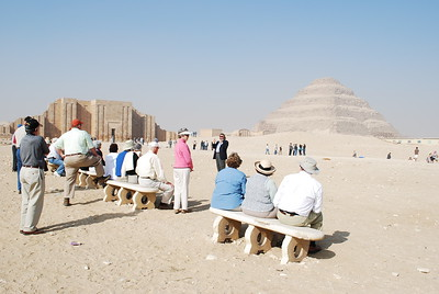 Step Pyramid Complex at Zoser II - Livia McCarthy