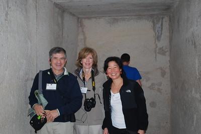 Garbers and Livia at Saqqara - Livia McCarthy