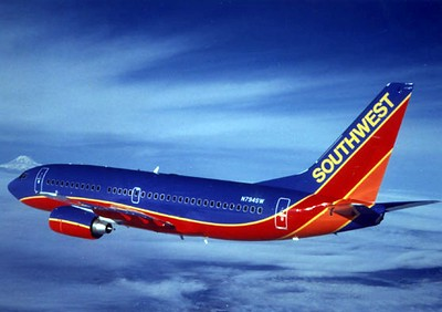 Reference photo of a Southwest Airlines Boeing 737