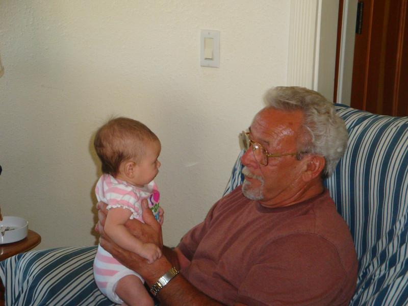 Grandpa's got me.