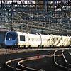 Amtrak Acela 2252 arrives in New Haven.