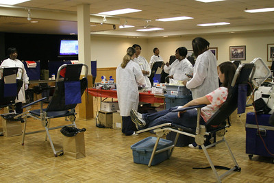In response to the huge turnout in January, the American Red Cross sponsored a second blood drive at Gardner-Webb on Friday.