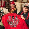 Tribune-Star/Joseph C. Garza<br /> Parents of Olympians: Clinton residents, Hannah and Charles Tyler, know what its like to sit on the edge of one's seat when watching the Olympics, especially the bob sledding event. The Tylers are the parents of former Olympic bob sled team members, Joe Tyler (1980) and Jim Tyler (1984).