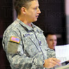 Outgoing: IANG Captain John Roark is the outgoing Commander of Company F, 113th, Forward Support Company.