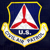 Logo detail: Decal on the side of the Civil Air Patrol aircraft.
