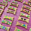 Tasty treats: Gourmet dog biscuits were some of the items on sale during the annual Humane Shelter event at Honey Creek Mall Saturday afternoon.