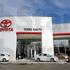 Toyota: Main entrance to the Toyota of Terre Haute dealership on US 41 South.