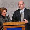Chairs: marla Flowers and Gary Morris of the Clabber Girl Corporation  are the 2009-2010 Campaign Co-Chairs for the United Way.