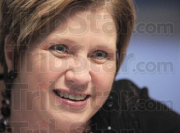 Missionary mug: Karen Henderson mugshot.