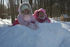 Queens of the snow pile