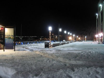 City Marina (9:24pm on Sunday, Feb. 7)