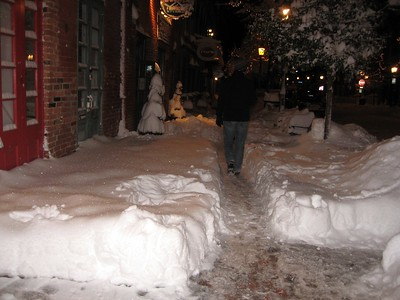 100 Block of King Street (11:20pm on Saturday, Feb. 6)