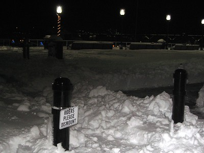 City Marina (9:23pm on Sunday, Feb. 7)
