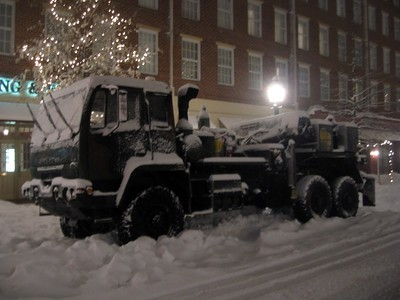National Guard tow truck