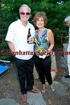 Ken Auletta, Juliet Papa attend First Pitch Cocktail Party to Celebrate Artists & Writers 62nd Anniversary Softball Game on Friday, August 13, 2010 at the Home of Debbie & Kevin McEneaney, Sag Harbor, New York  PHOTO CREDIT: ©Manhattan Society.com 2010 by Christopher London