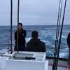 Waiting for a school of fish to show up on the sonar...<br /> approximatively 25-30 miles offshore..