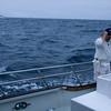 Jeff ist gekommen um Blauflossen Tunfisch zu fangen..
