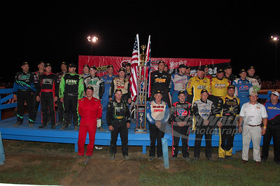 Starting Field for the 28th Annual Sunoco Race Fuels North/South 100 @ Florence Speedway