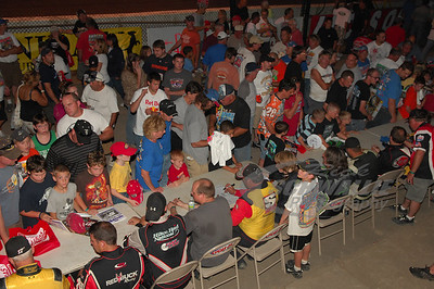 Driver's Autograph Session @ Fonda Speedway