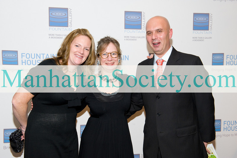 Teresa McFadden- Gristina, Betsy Seidman, Dario Gristina