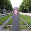 grass between the tracks, strasbourg light rail
