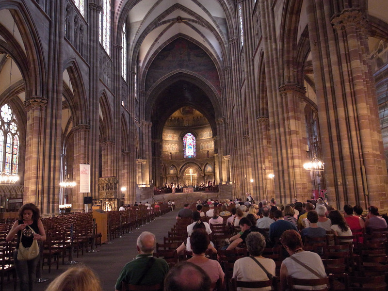 organ recital, strasbourg cathedral