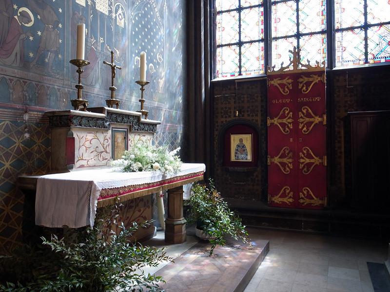 side altar, the notre dame de paris