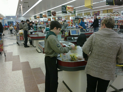Fundraising  - Bag packing November 2010