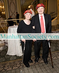NEW YORK-JUNE 10:Frances and Chester Sliwa attend  GUARDIAN ANGELS 31st Annual Gala on Thursday, June 10, 2010 at The Pierre Hotel, Fifth Avenue at 61st Street, New York City, NY(PHOTO CREDIT: ©Manhattan Society.com 2010 by Christopher London)