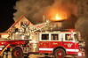 Garfield 3-21-10 : Garfield third alarm at 474 River Drive on 3-21-10.