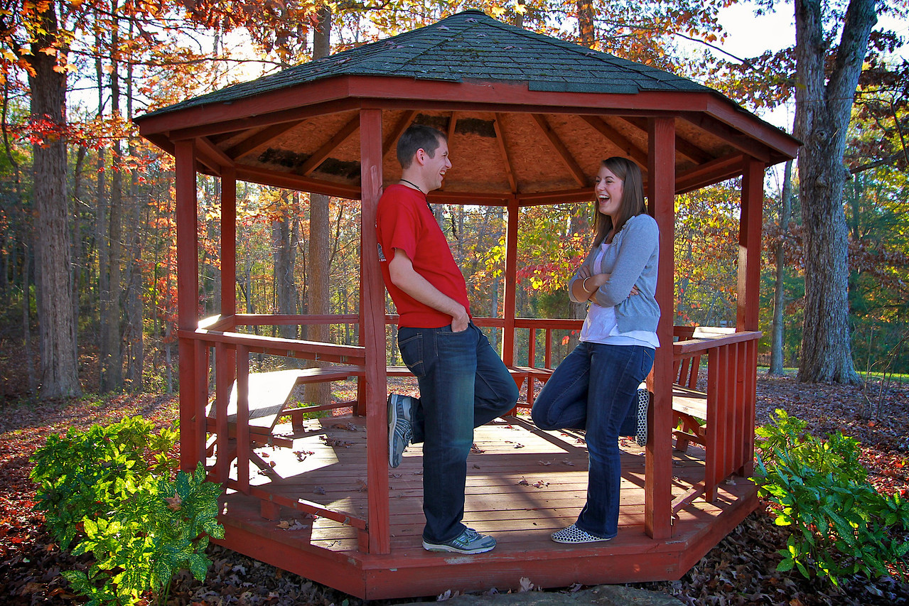 Student Groups at and around Lake Hollifield on the Campus of Gardner-Webb University.